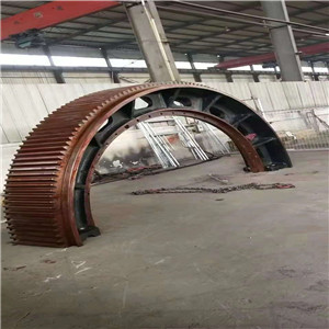 our company exports the ball mill girth gear and pinion gear to our old customers in Serbia